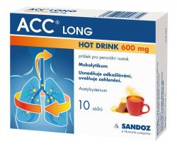 ACC Long Hot Drink  600 mg 10 sáčků