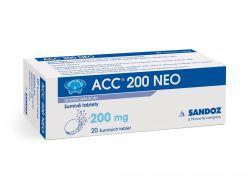ACC  200 NEO 200 mg 20 šumivých tablet