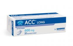 ACC LONG 600 mg 20 šumivých tablet