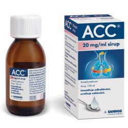 ACC 20 mg/ml sirup 100 ml