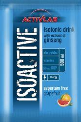 Activlab Isoactive iontový nápoj s ženšenem grapefruit 20 sáčků