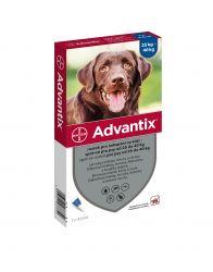 Advantix pro psy nad 25 kg spot-on 1x4 ml