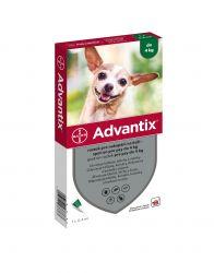 Advantix pro psy do 4 kg spot-on 1x0,4 ml