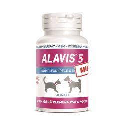 Alavis 5 MINI Péče o klouby pro psy a kočky 90 tablet