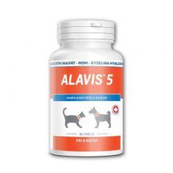 Alavis 5 Péče o klouby pro psy a kočky 90 tablet