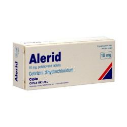 Alerid 10 mg 10 tablet