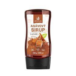 Allnature Agávový sirup BIO karamel 350 g