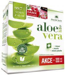 Pharma Activ AloeVeraLife 1000 ml 1+1 ZDARMA + dárek Šípkový olej