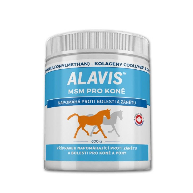 Alavis MSM pro koně 600 g