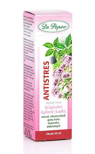 Dr. Popov Antistres bylinné kapky 50 ml