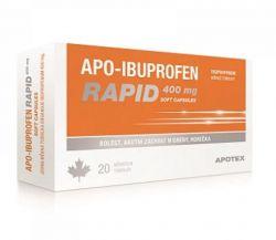 APO-Ibuprofen Rapid  400 mg 20 kapslí