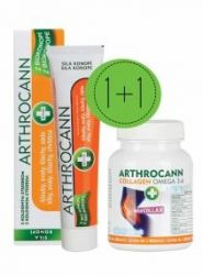 Annabis Arthrocann Gel 75 ml + Arthrocann Collagen 60 tablet