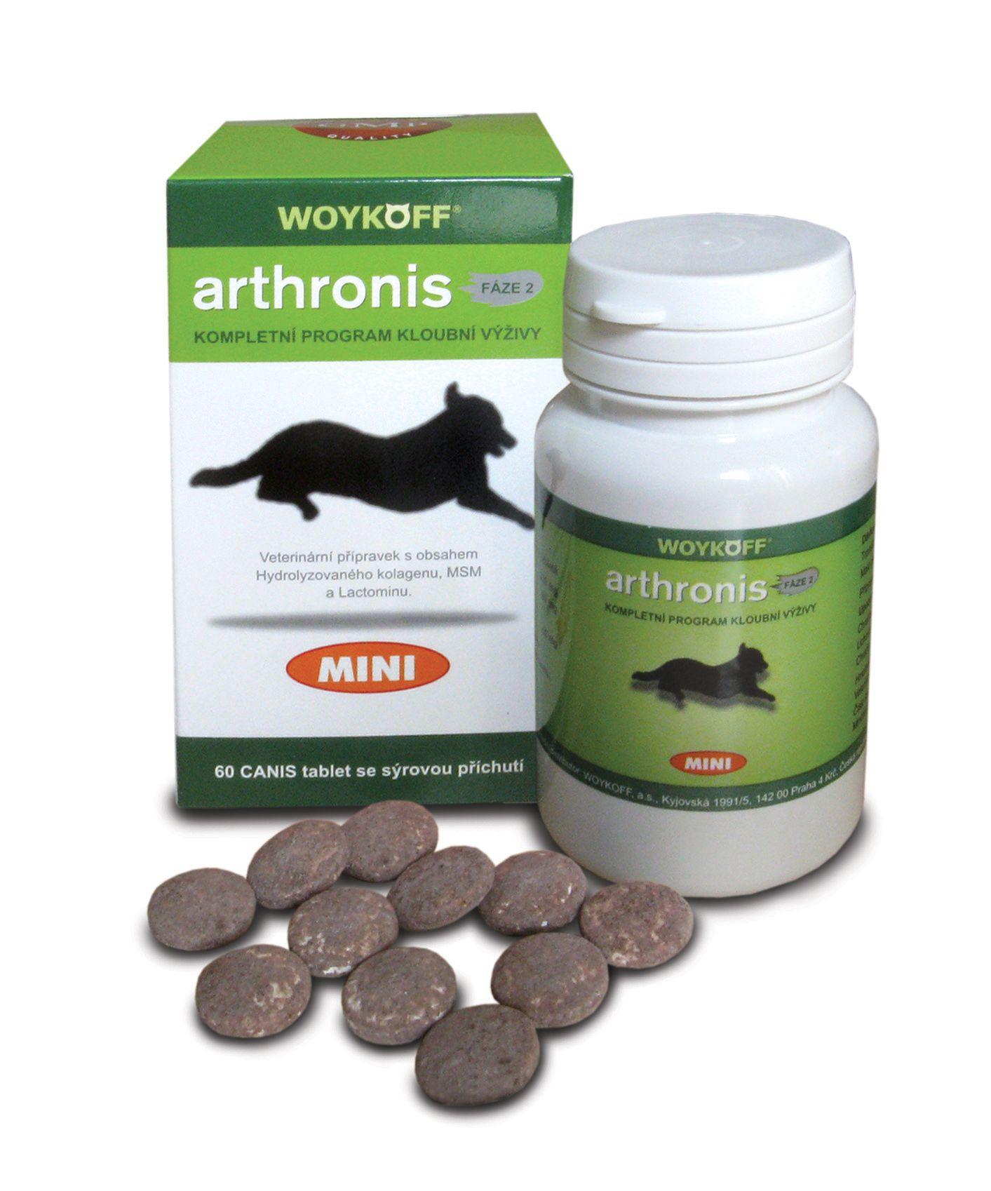 Woykoff Arthronis fáze 2 mini sýrová příchuť 60 tablet