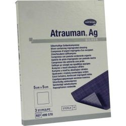 Atrauman Ag Kompres sterilní 5 x 5 cm 3 ks