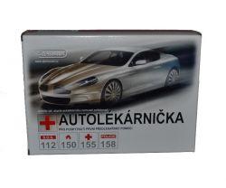 Steriwund Autolékárnička papírový obal vyhl.č.341/2014 1 ks
