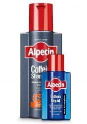 Alpecin Coffein Shampoo C1 + Coffein Liquid promo pack 250+75 ml