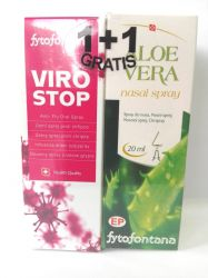 Fytofontana Viro Stop 1+1 (Viro Stop spray 30ml + Aloe nosní spray 20ml)