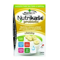 Nutrikaše probiotic s banány 3x60 g