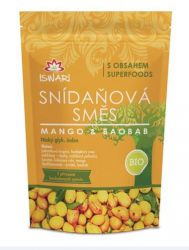 Iswari Snídaňová směs BIO mango-baobab 360 g