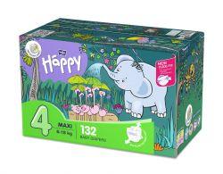 Bella Baby Happy Maxi 8-18 kg dětské plenky box 2x66 ks
