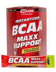 XXLABS BCAA Maxx Support příchuť limetka 310g (30 sáčků)