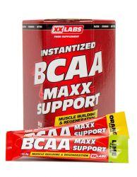 XXLABS BCAA Maxx Support příchuť pomeranč-limetka 310g (30 sáčků)