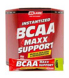 XXLABS BCAA Maxx Support příchuť limetka 620g (60 sáčků)