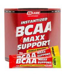 XXLABS BCAA Maxx Support příchuť pomeranč-limetka 620g (60 sáčků)