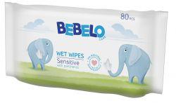 BEBELO Wet wipes vlhčené ubrousky 80 ks