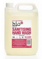 Bio d Tekuté dezinfekční mýdlo na ruce pelargónie náhradní kanystr 5 l