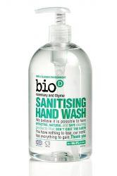 Bio d Tekuté dezinfekční mýdlo na ruce rozmarýn+tymián pumpička 500 ml