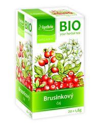 Apotheke BIO Brusinkový ovocný čaj  nálevové sáčky 20x 1,8 g