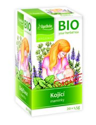 Apotheke BIO Kojící matky nálevové sáčky 20x 1,5 g