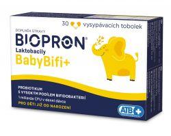 Biopron Laktobacily BabyBifi+ 30 vysypávacích tobolek