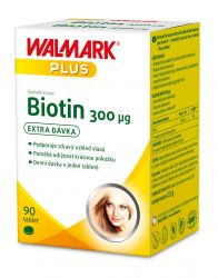 Walmark Biotin 300 µg 90 tablet