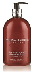 Baylis & Harding Tekuté mýdlo na ruce Černý pepř a ženšen 500 ml