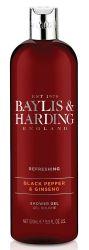 Baylis & Harding Pánský sprchový gel Černý pepř a Ženšen 500 ml