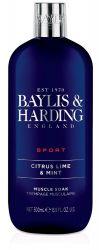 Baylis & Harding Pánská pěna do koupele Limetka a máta 500 ml