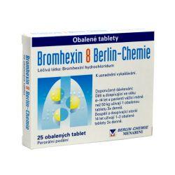 Bromhexin 8 Berlin-Chemie 25 tablet