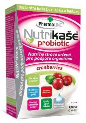 Nutrikaše probiotic cranberries 3x60 g
