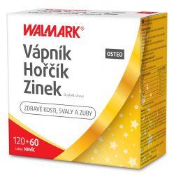 Walmark Vápník Hořčík Zinek OSTEO 120+60 tablet