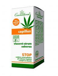 Cannaderm Capillus Vlasové sérum seborea 40 ml