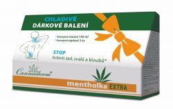 Cannaderm Mentholka EXTRA konopné mazání 150 ml + 3 konopné náplasti
