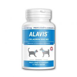 Alavis Celadrin pro psy a kočky 500 mg 60 kapslí