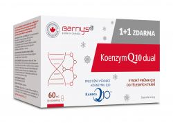 Barny´s Koenzym Q10 Dual 60 mg 30+30 kapslí ZDARMA