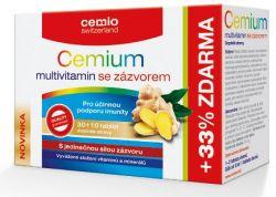 Cemio Multivitamin se zázvorem 30+10 tablet