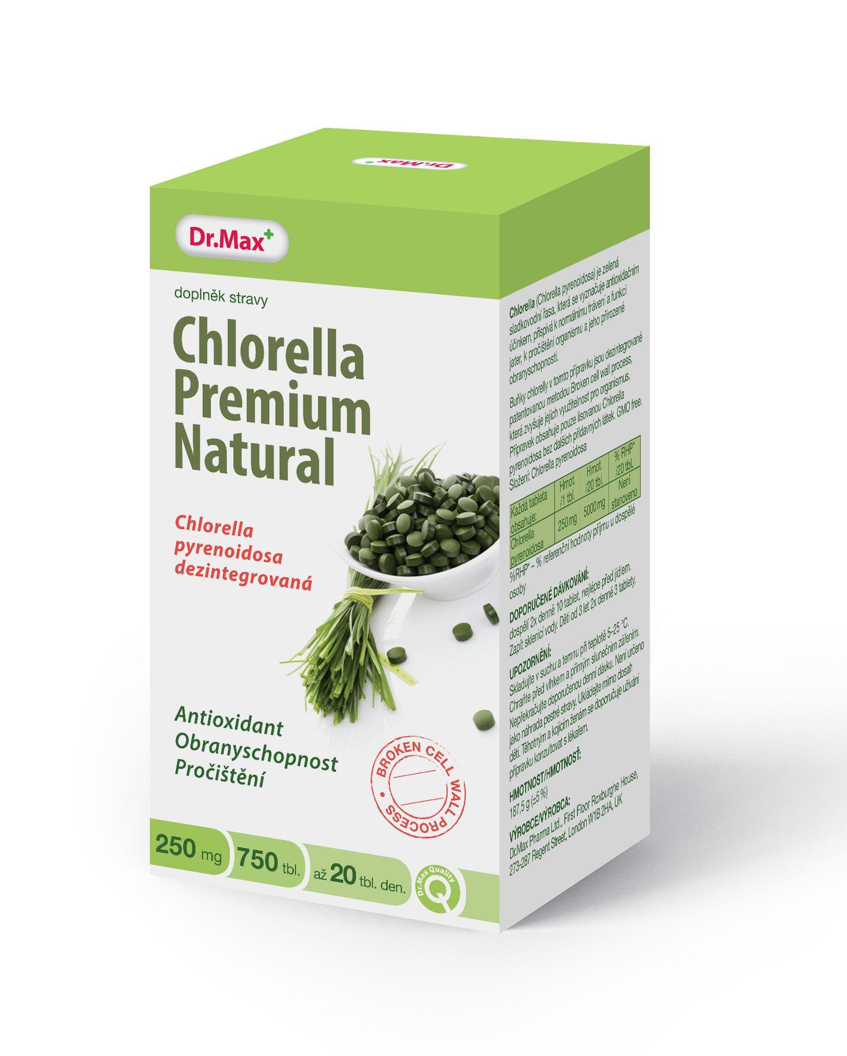 Topnatur Chlorella 250 Tablet Sleviste Cz