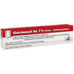 Clotrimazol AL 1% krém 20 g
