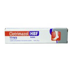 Clotrimazol HBF 1% krém 20 g