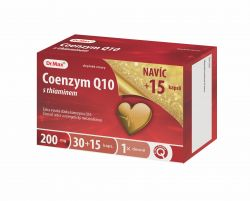 Dr.Max Coenzym Q10 s thiaminem 200 mg 30+15 kapslí
